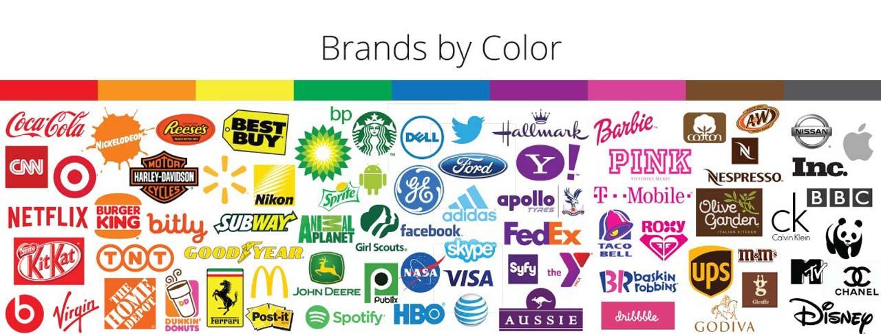 رنگ در برند و برندسازی